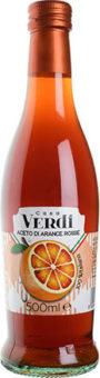 Ocet z czerwonej pomarańczy - casa Verdi - 500ml