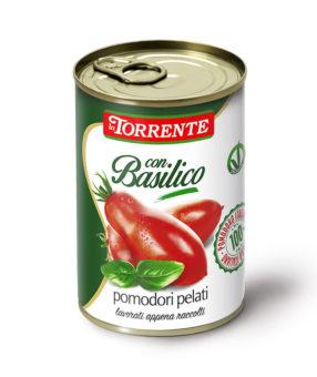 Pomidory Pelati z bazylią - laTorrente - 400g