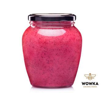 Miód Wowka _ Perłowy z porzeczkami _ 1 kg